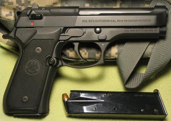 Пистолет Beretta M 92FS Centurion