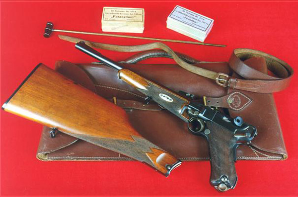 Пистолет-карабин Люгера модели 1902 года