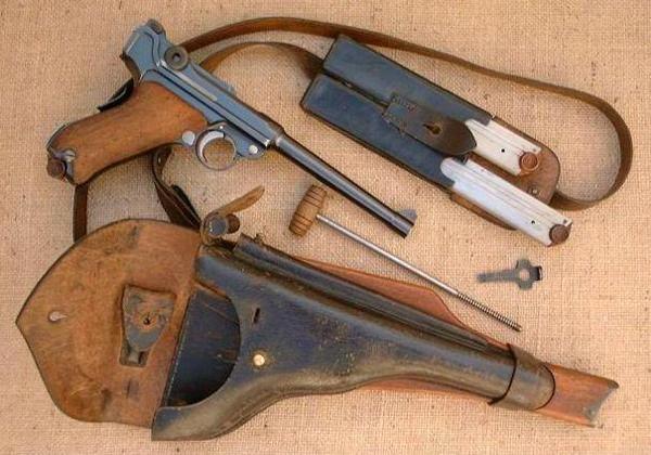 Люгер модели 1904 года
