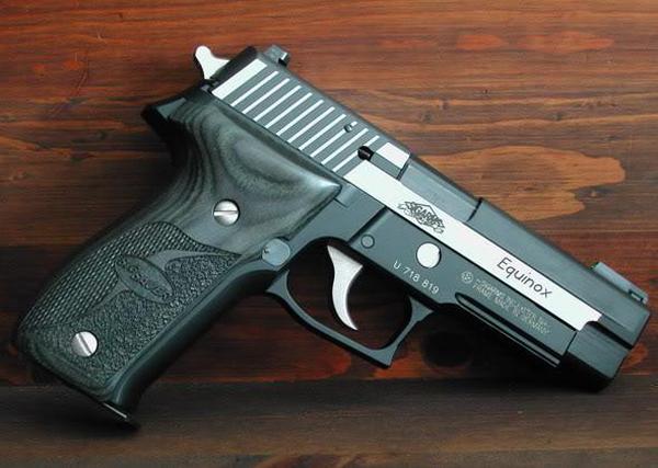 Пистолет Sig Sauer P226 Equinox