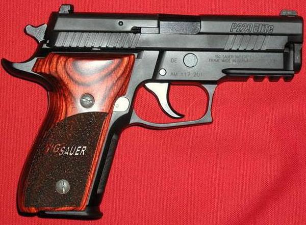 Пистолет Sig Sauer P229 Elite