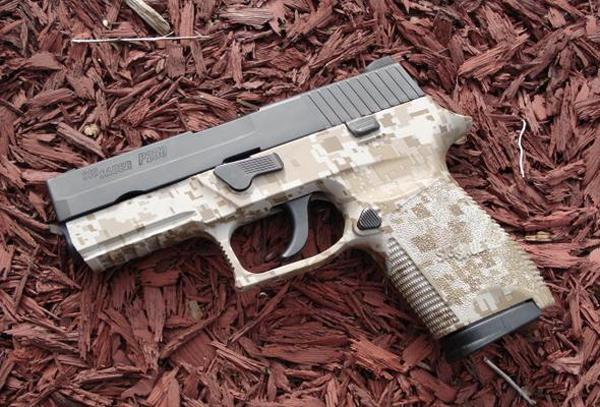 Пистолет Sig Sauer P250 Compact Digital Camo
