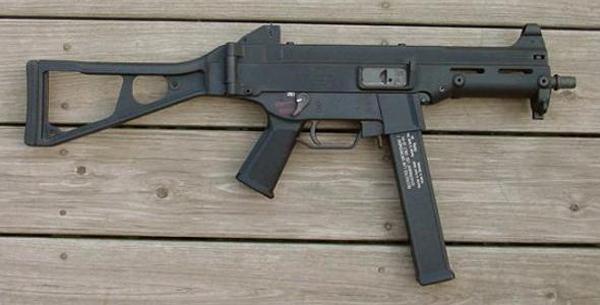 Пистолет-пулемет Heckler und Koch UMP45