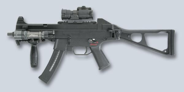 Пистолет-пулемет Heckler und Koch UMP калибра 9mm Parabellum