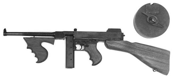 Пистолет-пулемет Thompson M1921