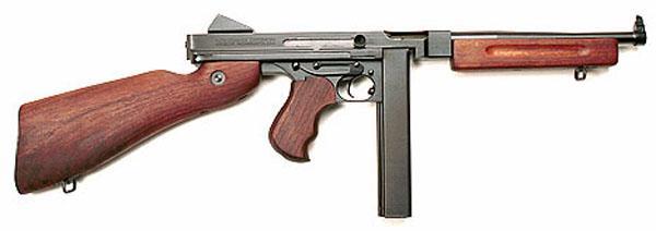 Пистолет-пулемет Thompson M1