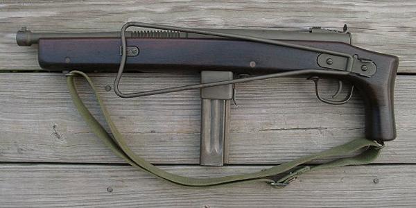 Пистолет-пулемет Reising M55