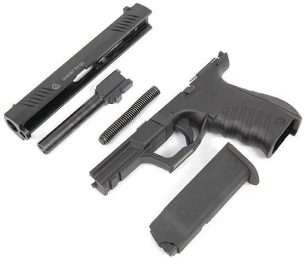 Пистолет Akdal Ghost TR-02 - неполная разборка