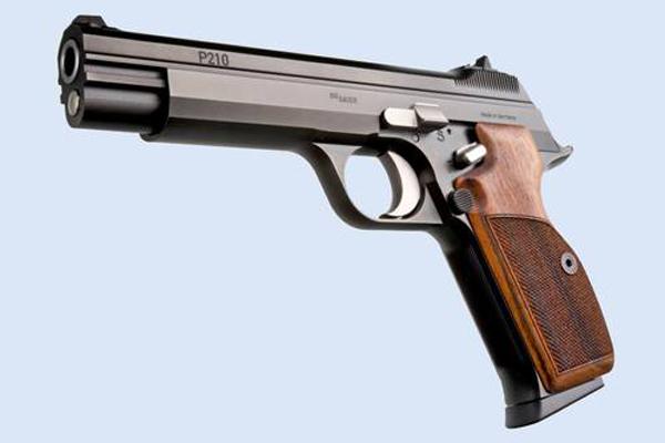 Самозарядный пистолет Sig Sauer P210 Legend