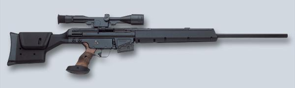 Снайперская винтовка Heckler und Koch PSG-1A1