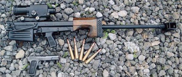 Крупнокалиберная снайперская винтовка ОСВ-96, калибр 12,7x108, Россия