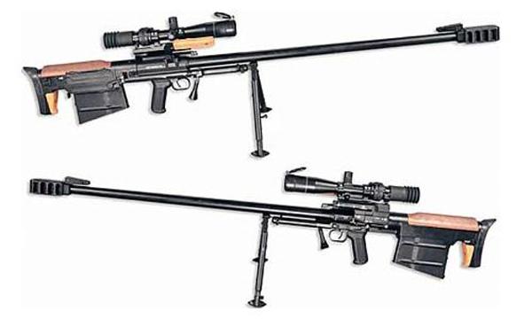Крупнокалиберная снайперская винтовка КСВК