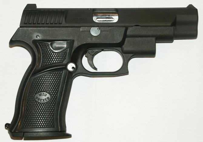 Пистолет WIST-94L со встроенным лазерным целеуказателем