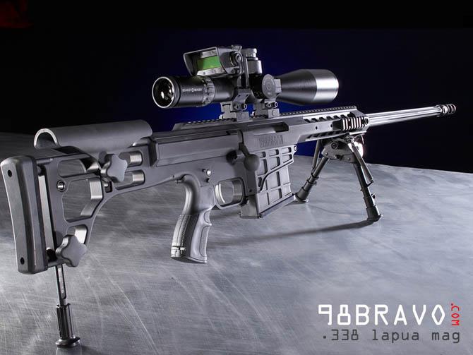 Снайперская винтовка Barrett 98B Bravo