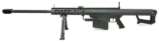 Крупнокалиберная снайперская винтовка Barrett M82A1