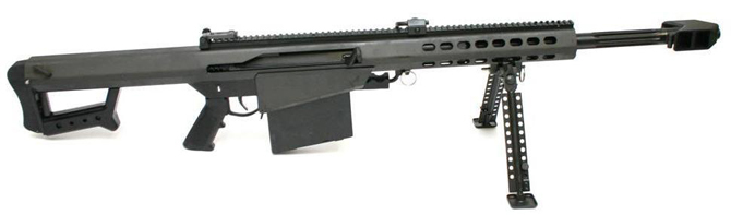 Крупнокалиберная снайперская винтовка Barrett M82A1 CQ
