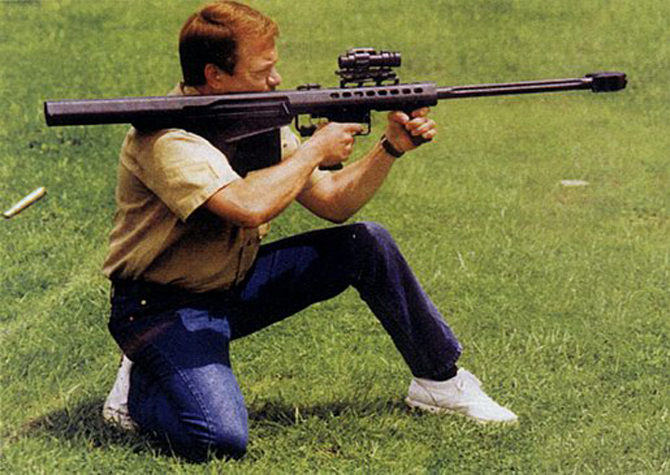 Крупнокалиберная снайперская винтовка Barrett M82A2
