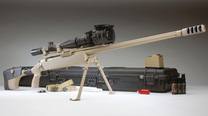 Крупнокалиберная снайперская винтовка McMillan Tac-50