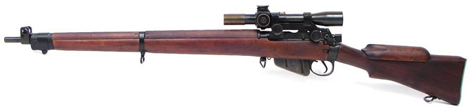 Винтовка Lee-Enfield SMLE No.4 Mk 1(T)