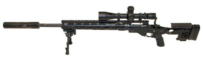Снайперская винтовка Remington M24E1 / XM2010 (США)