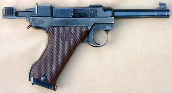 Пистолет Лахти Л-35
