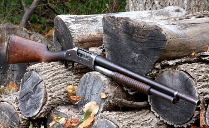 Ружье Winchester M1897 Riot Gun