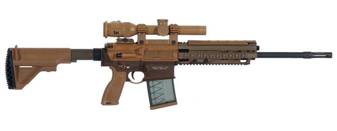 Снайперская винтовка Heckler und Koch HK G28 Patrol