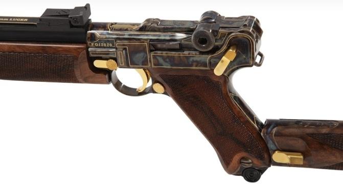 Пистолет-карабин Thomas Spohr P08