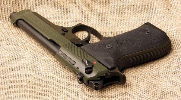 Beretta M 92FS Olive Drab