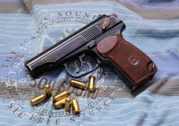 Пистолет Макарова и патроны 9×18