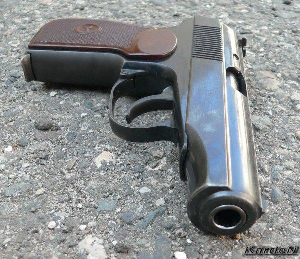 Пистолет Макарова ПМ / Russian Makarov PM pistol