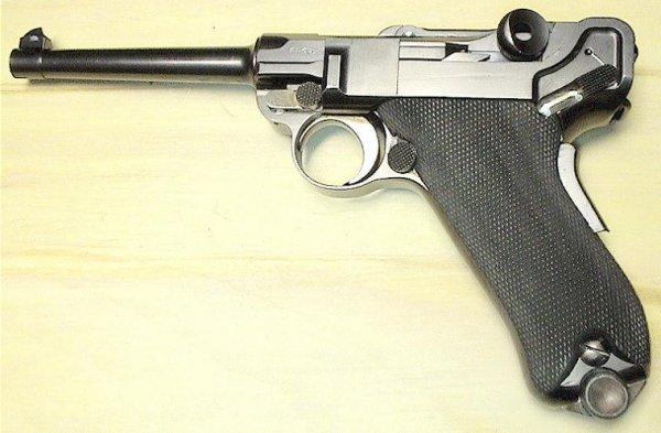 Пистолет Борхард-Люгер образца 1900 года / Borchardt-Luger model 1900