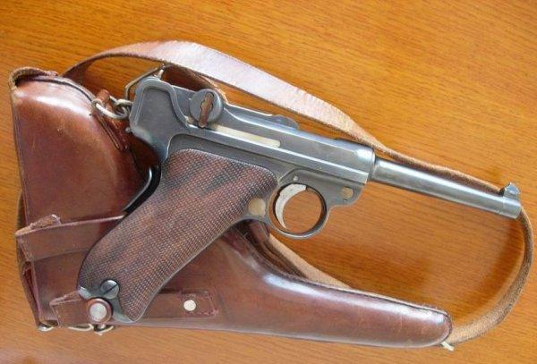 пистолет Borchardt-Luger модели 1900 года