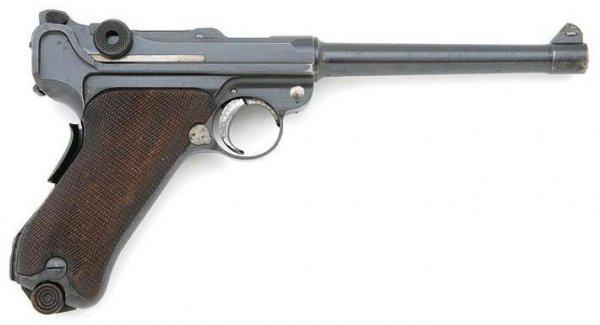 Pistole 1904 Navy Luger 9mm Parabellum