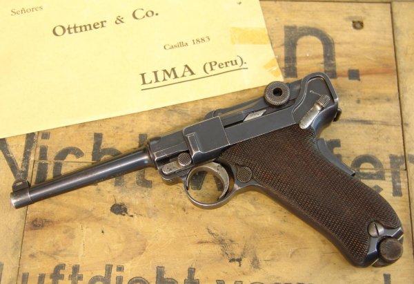 Пистолет Parabellum model 1906 фирмы DWM калибра 7,65 мм