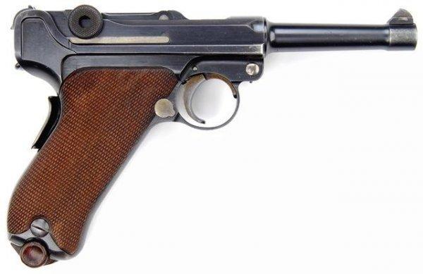 DWM Parabellum model 1906 калибра 9 мм