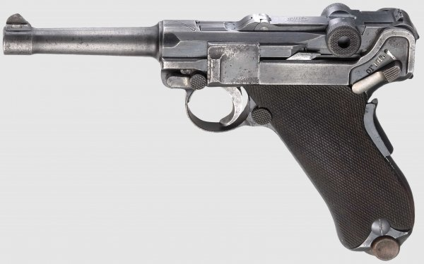 Luger DWM 1906, Russian contract, 9mm Parabellum