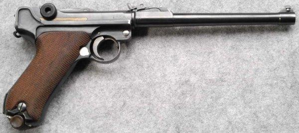 Lange Pistole 08 - Luger LP.08