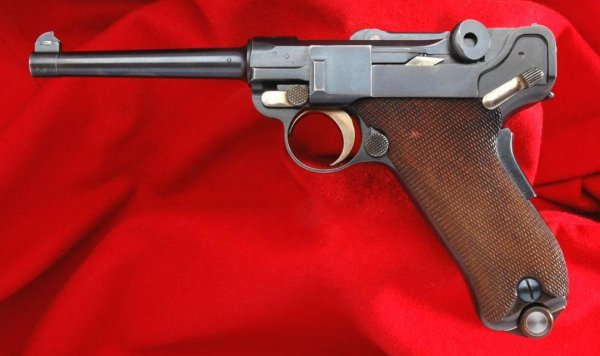 DWM 1900 Swiss Military Luger in .30 Luger