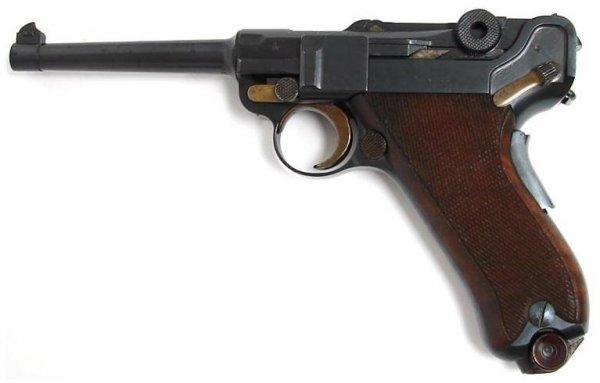 Swiss Luger 06/24 Waffenfabrik Bern