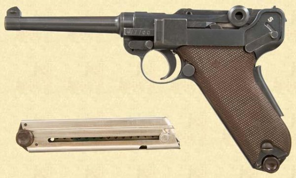 Swiss Luger 1929 Bern
