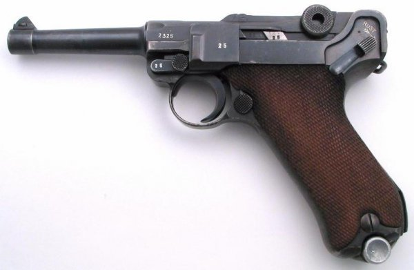 Luger Dutch Contract 1934