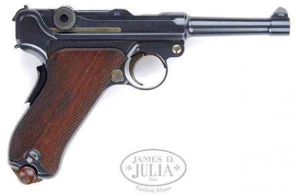 Russian contract DWM Luger 1906, SN567