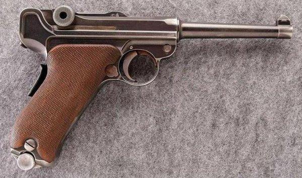 DWM 1906 American Eagle Luger .30 Luger