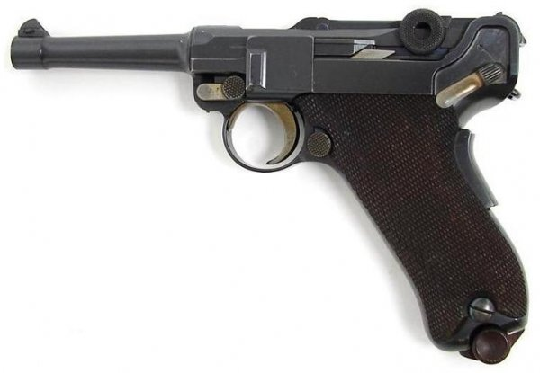 DWM 1906 American Eagle Luger in 9mm Parabellum