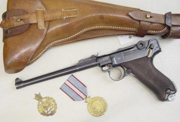 Persian Luger LP.08 9mm Parabellum