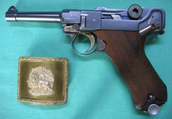 Persian P.08 9mm Parabellum