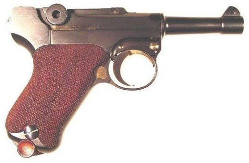 Mike Krause Baby Luger in .32ACP