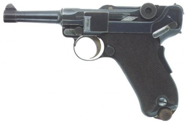 Georg Luger personal Baby Parabellum pistol