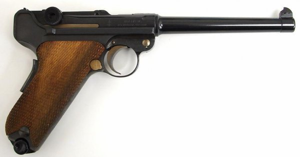 Mauser P.08 1970's vintage